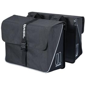 Basil Forte Double Pannier Bag 35l schwarz/schwarz